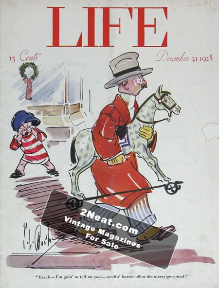 LIFE 1928 | 2Neat Magazines | Vintage LOOK Magazines and
