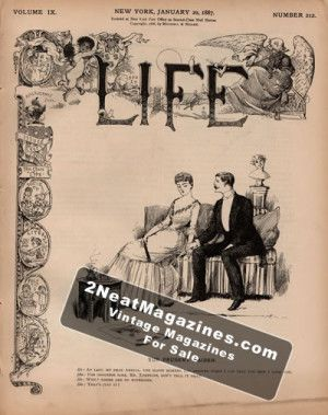 Life Magazine - January 20, 1887