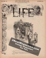 Life Magazine - January 27, 1887
