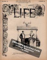 Life Magazine - February 3, 1887