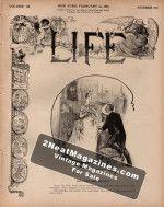 Life Magazine - February 24, 1887