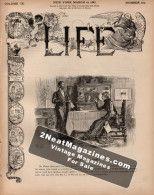 Life Magazine - March 10, 1887
