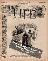 Life Magazine - March 17, 1887