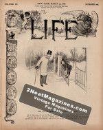 Life Magazine - March 31, 1887