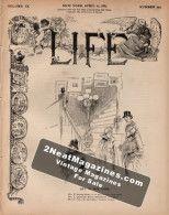 Life Magazine - April 21, 1887
