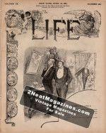 Life Magazine - April 28, 1887