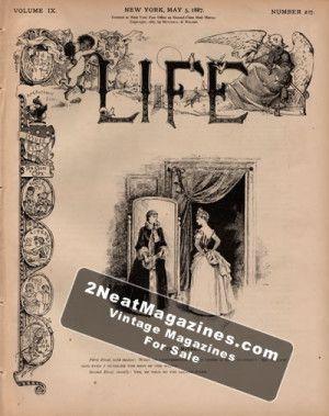 Life Magazine - May 5, 1887