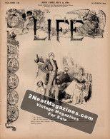 Life Magazine - May 19, 1887