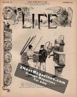 Life Magazine - May 26, 1887