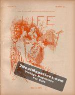 Life Magazine - June 2, 1887