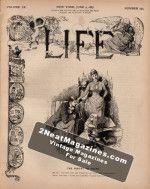 Life Magazine - June 9, 1887
