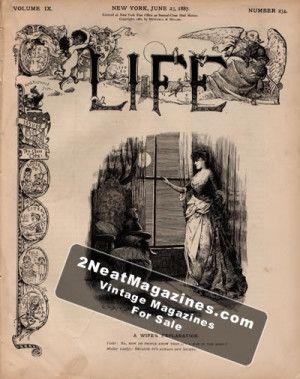 Life Magazine - June 23, 1887