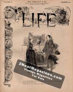 Life Magazine - July 14, 1887