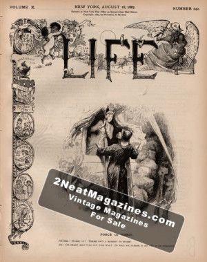 Life Magazine - August 18, 1887