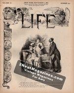 Life Magazine - September 1, 1887