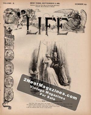 Life Magazine - September 8, 1887