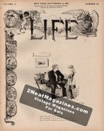 Life Magazine - September 15, 1887