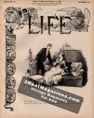Life Magazine - October 13, 1887