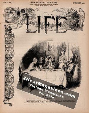 Life Magazine - October 20, 1887