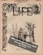 Life Magazine - October 27, 1887