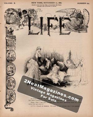 Life Magazine - November 10, 1887
