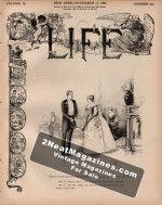 Life Magazine - November 17, 1887
