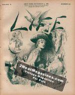 Life Magazine - November 24, 1887