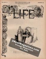 Life Magazine - December 15, 1887