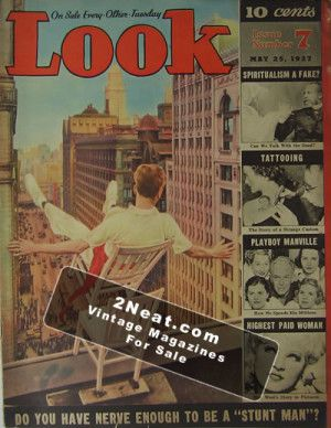 LOOK Magazine – May 25, 1937