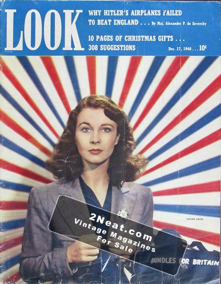 LOOK Magazine - December 17, 1940 - Vivien Leigh