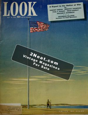 LOOK Magazine – July 14, 1942