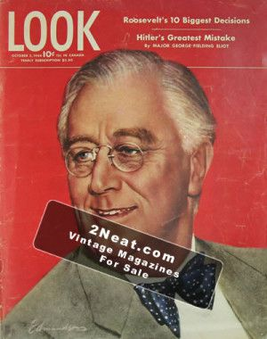 LOOK Magazine - October 3, 1944