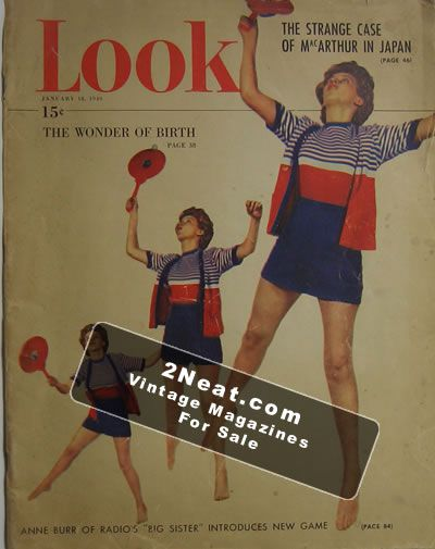 LOOK Magazine - January 18, 1949