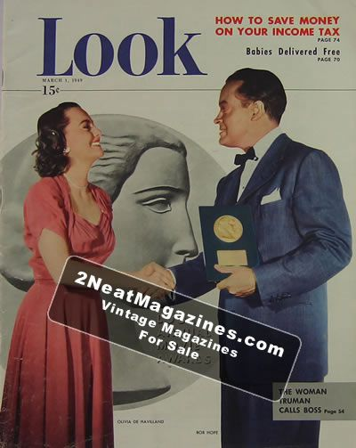 LOOK Magazine - March 1, 1949