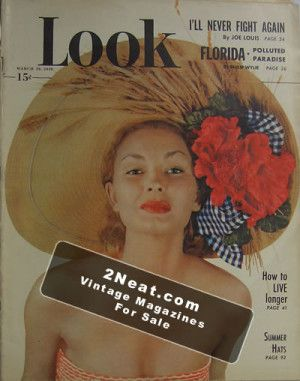 LOOK Magazines – March 29, 1949