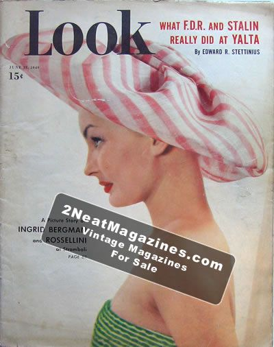 LOOK Magazine - June 21, 1949