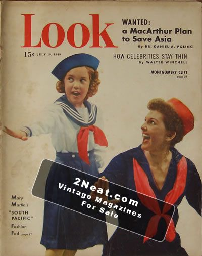 for sale - look magazine - july 19  1949