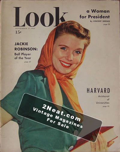 LOOK Magazine - September 27, 1949