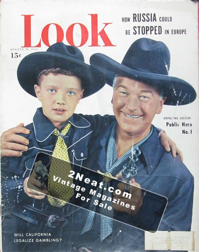 for sale - look magazine - august 29  1950