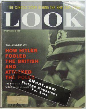 LOOK Magazine - September 1, 1959