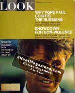 LOOK Magazine - April 16, 1968