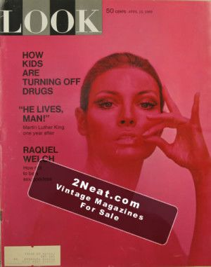 LOOK Magazine - April 15, 1969