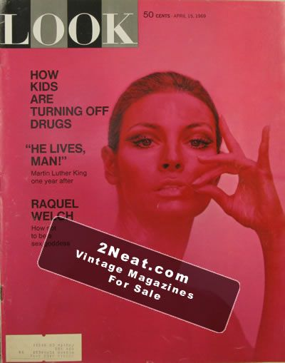 For sale look magazine april 15 1969 2neat magazines