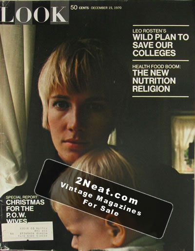 LOOK MAGAZINE - DECEMBER 30, 1969 - THE SIXTIES, GODFREY CAMBRIDGE, JOE KAPP
