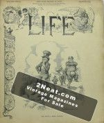 Life Magazine - March 16, 1899