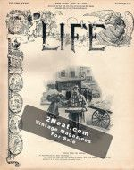 Life Magazine - December 6, 1900