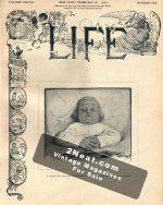 Life Magazine - February 21, 1901