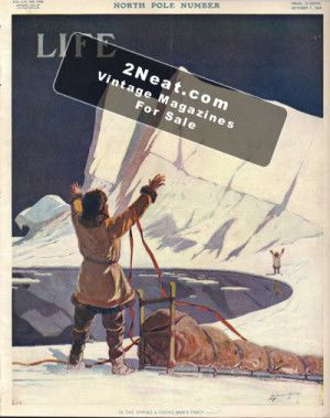 Life magazine 1909 North Pole cover