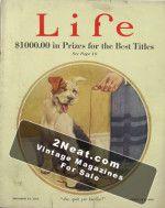 Life Magazine - October 23, 1924