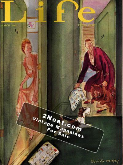 Life Magazine March 1936